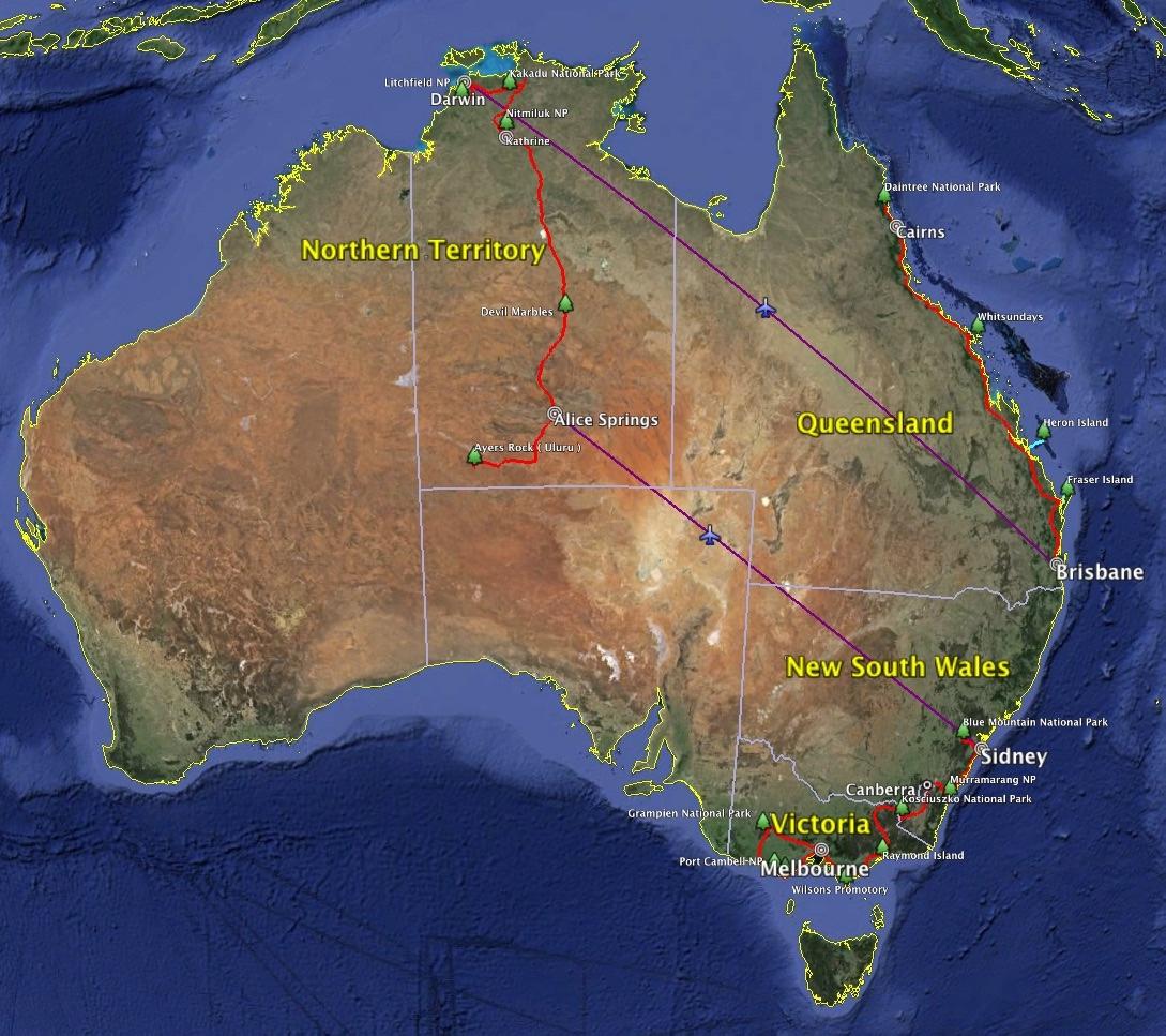 Australien Overview